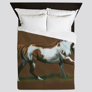 Beautiful Paint Horse Queen Duvet